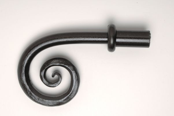 Finial, Scroll, Large