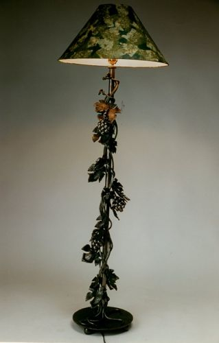 Grape Cluster Floor Lamp